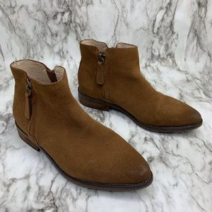 Anthro Gee Wawa Arizona Chelsea pointy suede boot